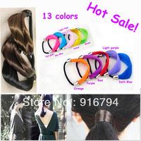 Hot Sale! Free shipping Wholesale Wig hair ring Hairclips/Hairpins/Hairwear/HairAccessories wig headband hair elastic hair rope
