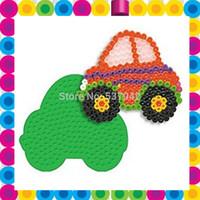 Fashion model board car pegboard for 5mm hama beads perler beads