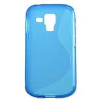 1pcs Clear Soft TPU Gel Case Back Cover Protector For Samsung Galaxy S Duos S7562 Free / Drop Shipping Hot New