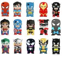Superhero Collection Avengers Comics Silicone Case for iPhone 5 5S,Spider-Man,Batman,Superman,Iron Man,Captain America