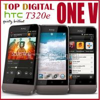 3pcs/lot Unlocked Original phone HTC one v T320e Android 4.0 WIFI GPS Beats Audio Cell phone One year Warranty