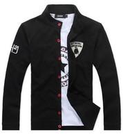 Free Shipping Mens New 2013 Hooddies Long Sleeve Outerwear Sports hoodies Coat Men Casual Sweatshirt Jacket 4 color M~XXXL sport