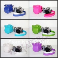 New design camera case bag for Sony NEX-5T NEX-5R NEX-5RL 16-50mm Lens Camera with Flash Slot