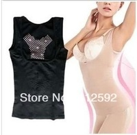 Fat burning shaper thermal vest abdomen drawing beauty care shaping underwear thin seamless corset top female
