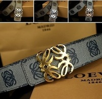 New Italy famous luxury imported original leather brand import waterproof man leather belt, ladies leather belt