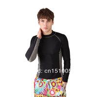 Free shipping Men Diving Suit UPF50+ Surfing Bathing Suits Sports S/M/L/XL/XXL sport suit