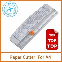 White Portable Paper Trimmer for A4 , Diy paper mold tools for paper cut nife 12inch