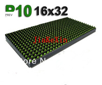 P10 outdoor Green Color LED Lighting Module Programmable led signs  Wholesale and led display