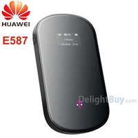 Unlocked HUAWEI E587 Original 3G 4G wireless hotspot Router MiFi 42mbps/ 43.2mbps mobile WIFI sharing(T-mobile)