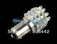 20Pcs/Lot Super Bright BA15S 36 LED Car Bulb Pure White Tail Brake Light Led Indicator Lights Lamp 12V b8 TK0020 b8