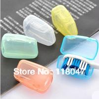 Free Shipping Travel Portable toothbrush head Toothbrush Holder Toothbrush box toothbrush container Bathroom set anti bacteria