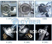 5Pairs/Lot Super White New Auto H1 XENON Halogen Light Bulbs 3500K Car Headlights Headlamp 55W 12V TK0030