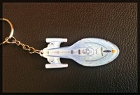 FREE SHIPPING star trek keyring spaceship  keychain  wholesale 1 lot=5pcs