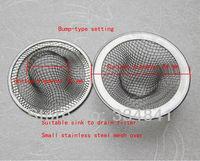 Stainless steel sink strainer drain filter surface diameter  54mm