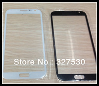 Wholesale  Front Screen Glass Lens for samsung  N7100 note2 Outer Digitizer Cover Replacement  Parts 100 pcs DHL free shiping