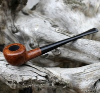 Classic Tobacco Briar Best Wooden Smoking Pipes 17cm Polo Briar Genuine Wood Smoking Pipe Cheap Sale