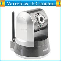 P2P Plug&Play 720P Megapixel 1280*720 Pixels HD ONVIF Wireless IP Camera WiFi TF Card Storage PTZ IR Cut Dual Audio Digital Cam