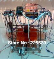 New 3D printer RepRap Prusa Mendel DIY full kit (not assembled)+PLA 1KG+LCD