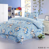 free shipping!100% Cotton child bedding set  3 pieces ( bed sheet duvet  pillow case  )