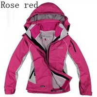 Top Selling 10 colors Women Warm Skiing Jackets Winter snowboard Windproof Outdoor Thick Thermal Sports Waterproof Jacket S-XXL