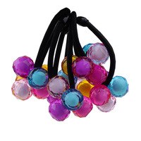 Candy the ball hair rope string hair bands baby boutique children's adult tire hair ornaments rope elastic ring