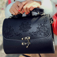2013 spring fashion Wine red motorcycle doctors bag handbag bag female bags
