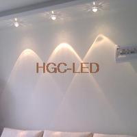 New Modern minimalist 3W LED Wall lamp Hall Porch Walkway Lobby Light Fixture Bulb