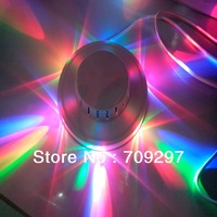 Free DHL/FEDEX/EMS,20 pcs/lot 8W 48LED AC85~265V RGB mini Auto Rotating LED Stage Light KTV Bar Party DJ Stage Lighting 869866