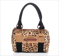 Free Shipping High Quality Silk Nylon Oxford Fabric Fashion Casual Leopard Small Women Handbag Handbags Bags For Women