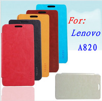 Lenovo A820 6-color YASBY brand durable fashion skin protective Flip leather case