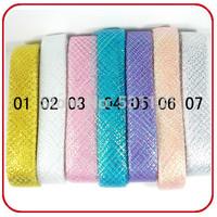 4cm*20m/roll, 10roll/package!!! Colorful belt net flowers ribbon cartoon flower packaging bow