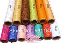 52CM*5Yard/Roll Bombonony bronzier yarn circle quality sheer packaging material organza rolls