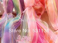 2.5cm*100m/pack ribbon gift packaging handmade diy material ribbon bountyless packing ribbon