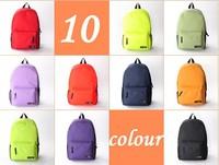 2013  bags casual backpack colorful canvas shoulder bag school bag