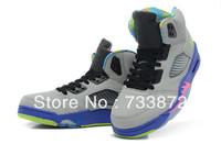 Cheap men/women j5 bel-air Bel air 5 fresh prince retro basketball shoes for lovers