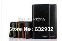 Free Shipping 2014 Fashion Waterproof Billfold Multi-card Leather Men's Long Wallet,Fashion Designer Wallet