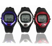 New Brand Design Heartbeat Table Men Women Sports Heart Health Rate Monitor Watch Calendar Alarm Calorie Stopwatch Wrist Watches