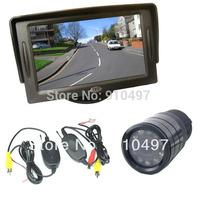 "Wireless IR Night Vision Reverse Backup Camera + 4.3"" TFT LCD SCREEN Monitor Car Rear View Kit"