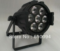 Free Shipping NEW ARRIVAL 7pcs*10W RGBW 4IN1Mini LED Par Light,LED Mega Par38,Stage Light,ADJ LED Par Light
