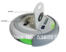 New Arrival 4 In 1 Multifunction Robot Vacuum Cleaner , LCD Touch Screen, Remote Control, UV Lamp Sterilizer,Self Charge(China (Mainland))