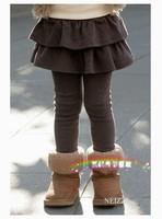 Girls cotton warm leggings childrens clothing girls pants CD10