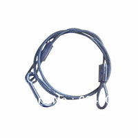 Lamps safety  insurance steel wire rope for professional lighting maximum length 70cm