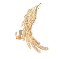 Earings Fashion 2013 Free Shipping, Punk Wing Shaped Earcuff , Women Ear Cuff Earrings Factory Wholesale, EJ068