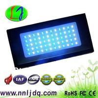 120W Dimmable LED Aquarium Light 60*3 watts BridgeLUX chip 30 pcs white 14000k 30 pcs 460nm blue for coarl actinia