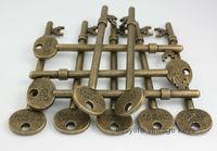 20pcs/lot 94mm  OLD Look Antique Skeleton Vintage Steampunk keys Assorted Styles Wedding Favor Gifts