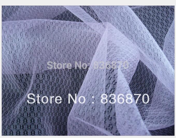 160cm 16inch Width Ivory Diamond Pattern Mesh Fabricfor