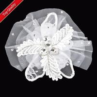 Fashion Bride Hair Accessory Wedding Marriage Bridal Flower Hairpin Brooch Hand Flower General Hair Accessory,Free Shipping