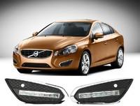 High quality LED Daytime running lights front Fog lamp Fog Lights For 2011-2013 Volvo S60