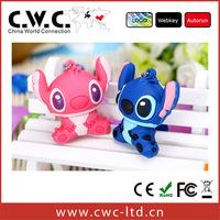 Free shipping wholesale or retail  100% original usb flash drive 2g 4g 8g 16g usb cartoon