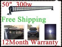 truck lights led  300w,50inch ,Epistar chip led , LED light bar for Off road